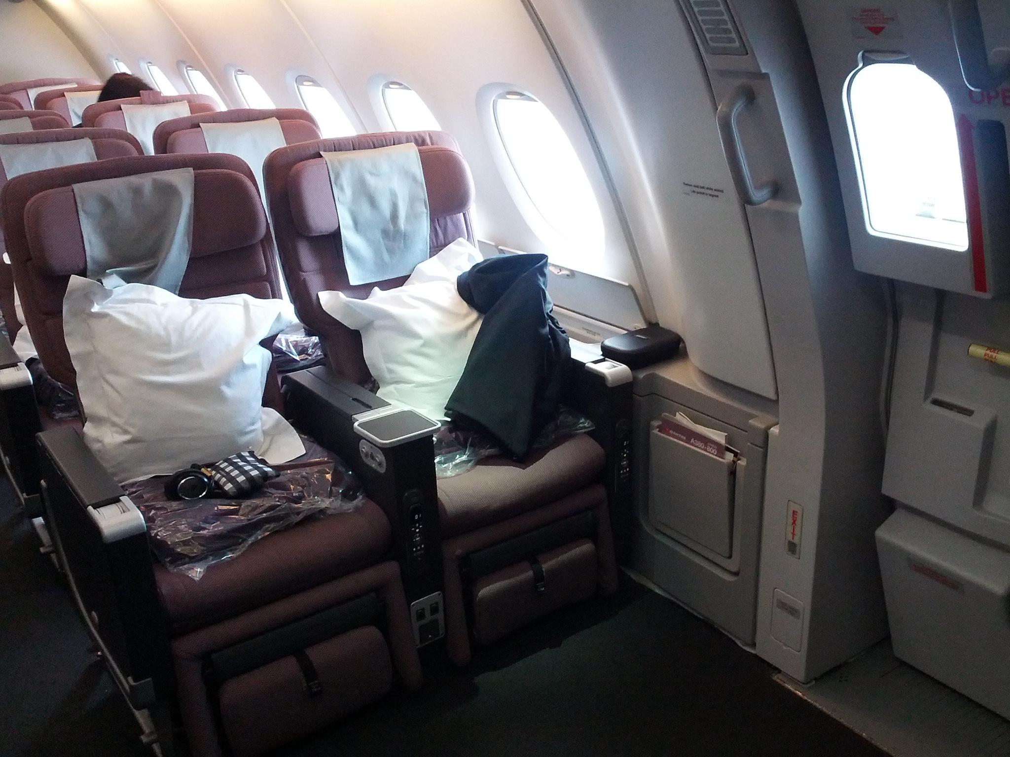 Qantas Airways Seat Reviews Skytrax