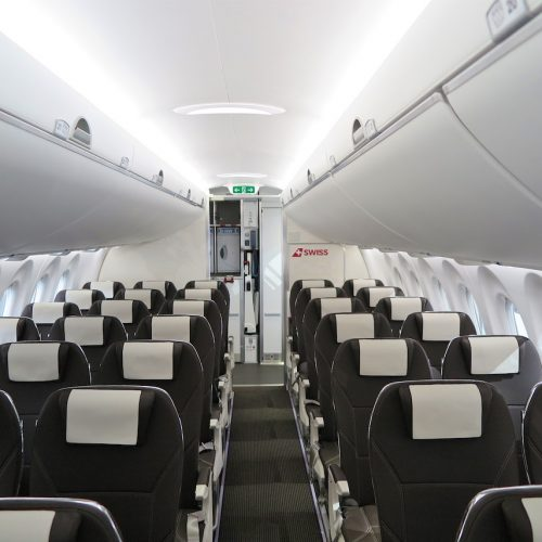 Aircraft Cabin. British Airways Embraer E190SR Compare The Size Of The . BOEING 777X - MBG ...