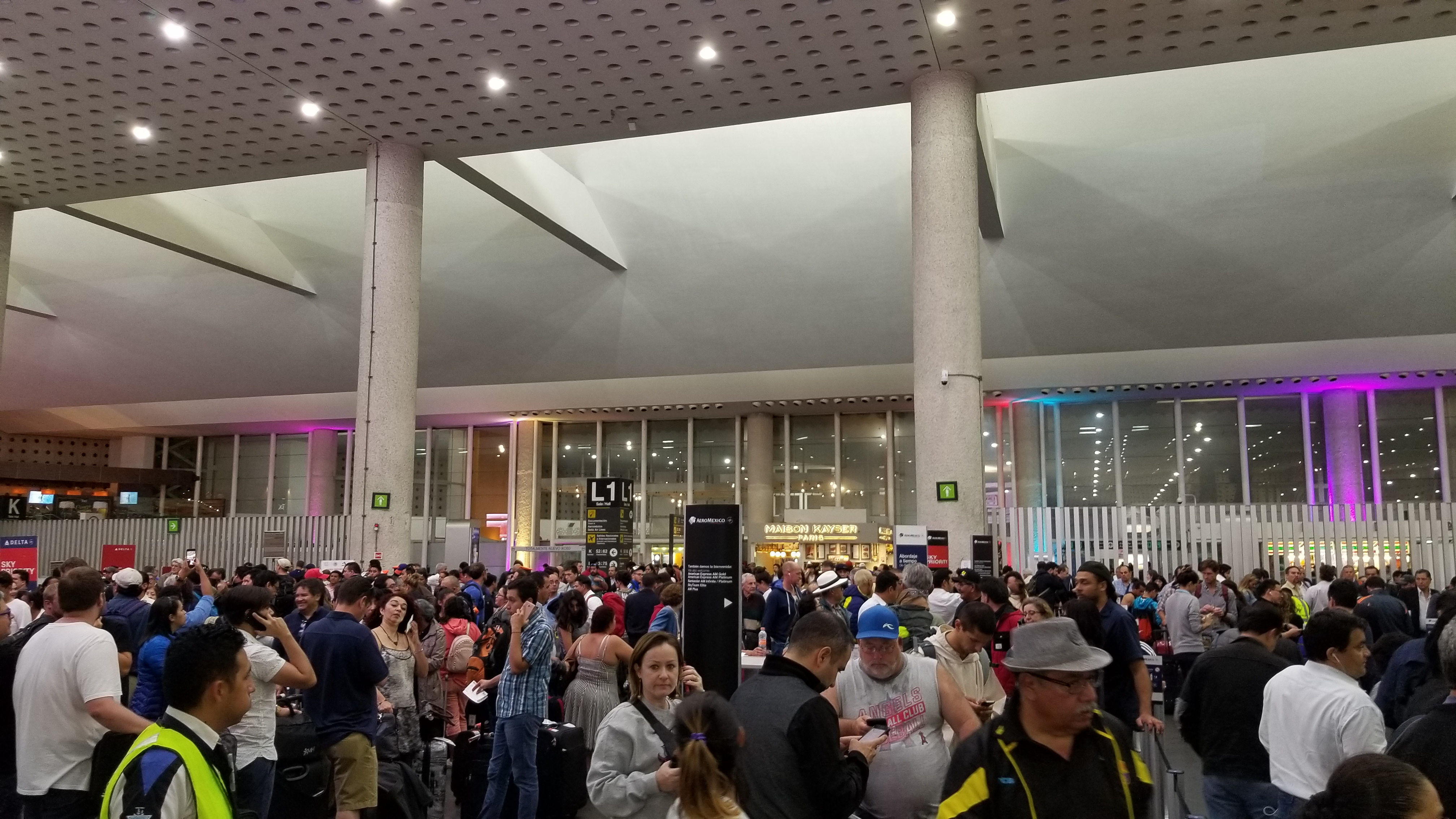 Mexico City Airport Customer Reviews Skytrax