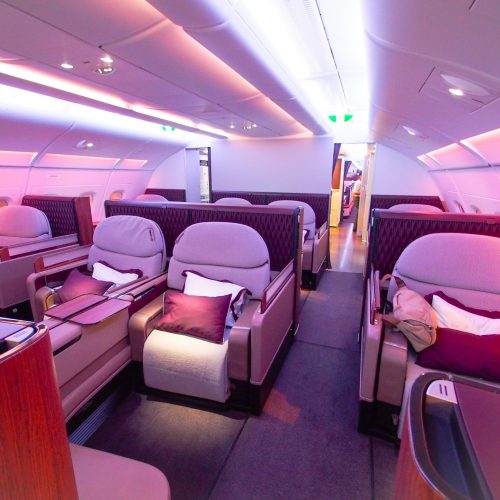 Knowledgeable Qatar Airways First Class Pjs Airlines Collectables