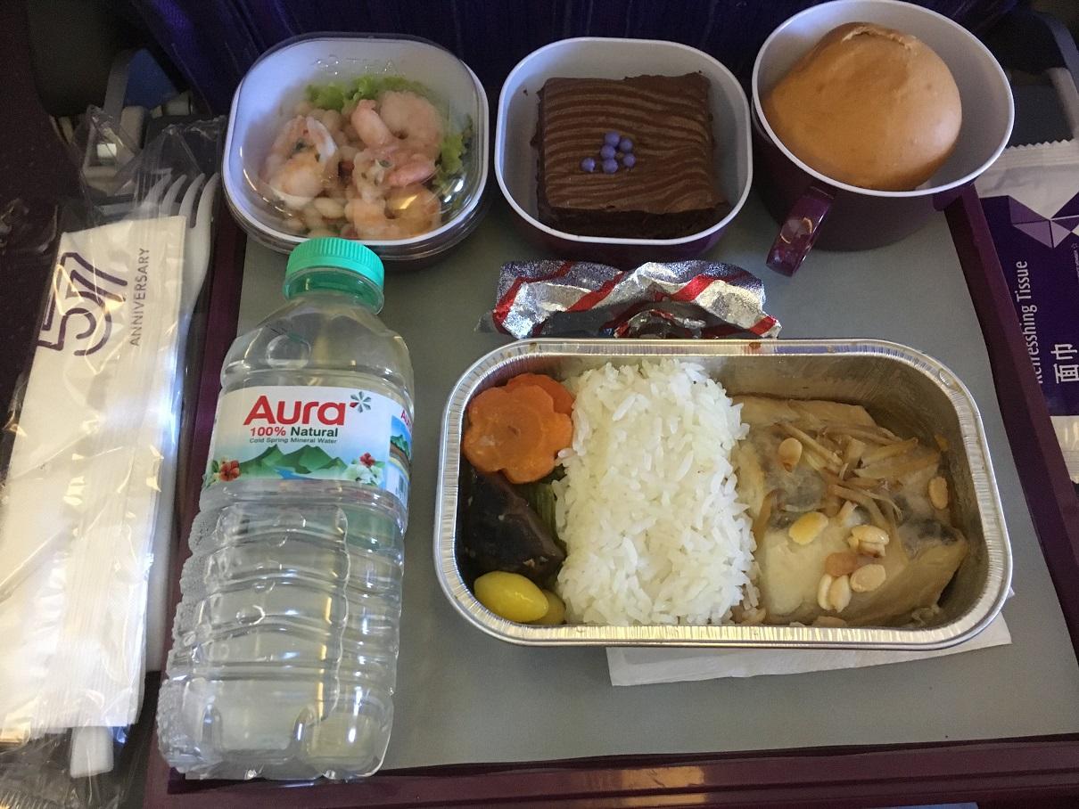 Thai airways customer reviews skytrax for Air thai cuisine