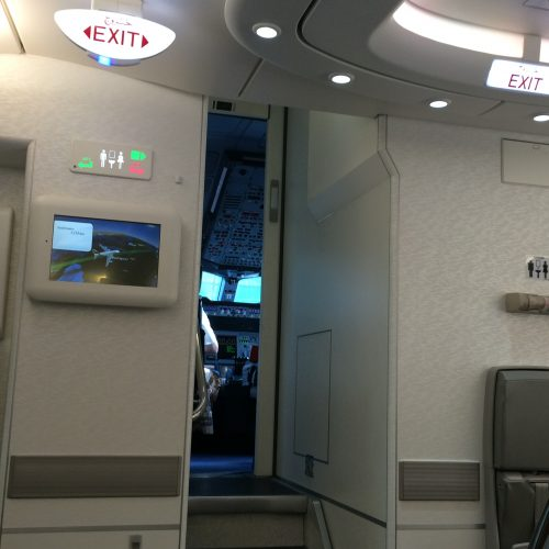 stoelen a380 emirates
