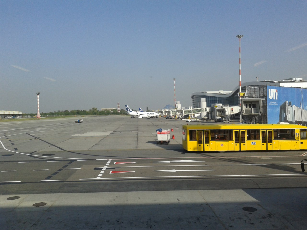 Aeroporto Bucarest : Bucharest airport