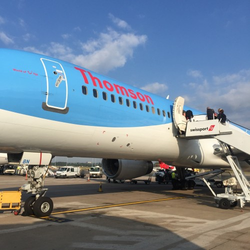 Thomson Inflight Meals >> TUI UK Flight Information