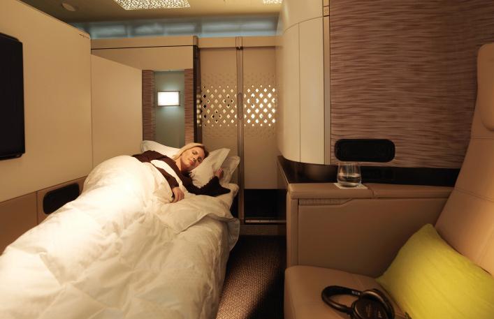 Etihad Airways first class seat