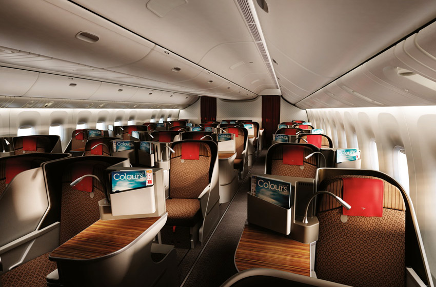 Garuda Business Class Seats