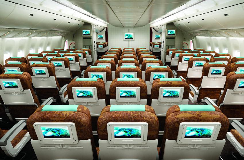 Garuda Economy Class Seats