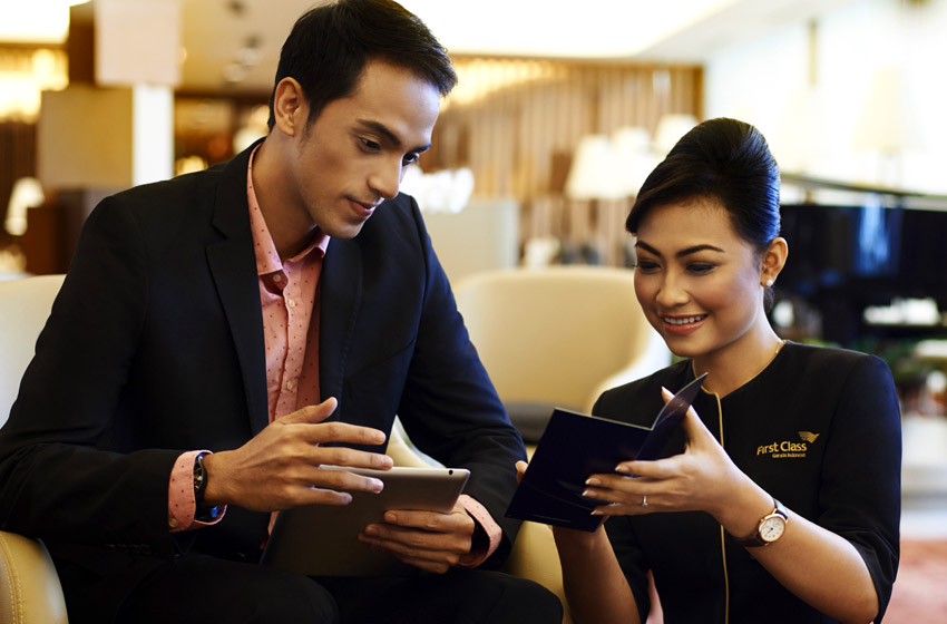 Garuda First concierge