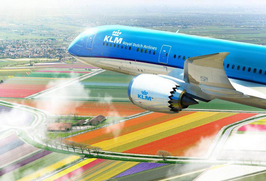 KLM Previews Boeing 787 Dreamliner Interior