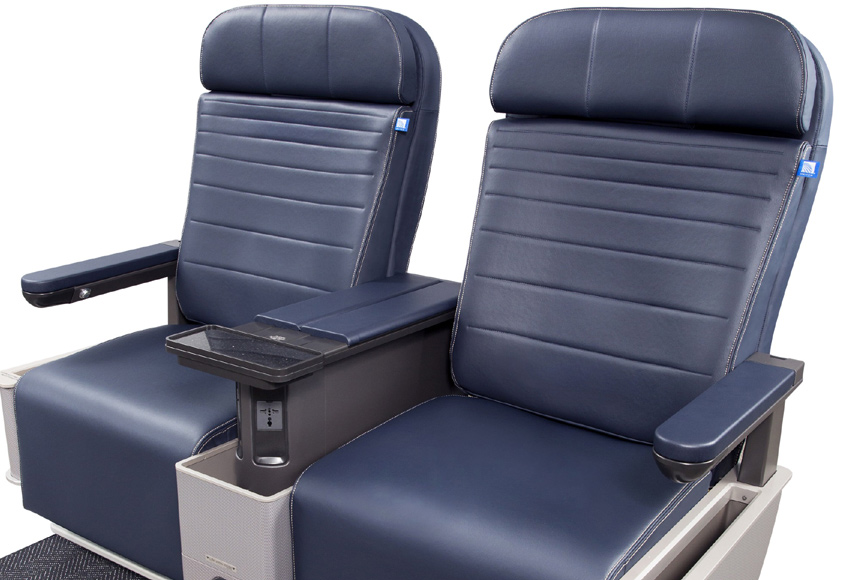 United Airlines New Domestic First Class Seat Skytrax