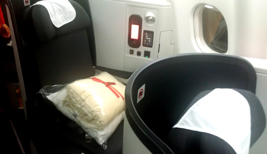 Avianca business class seat