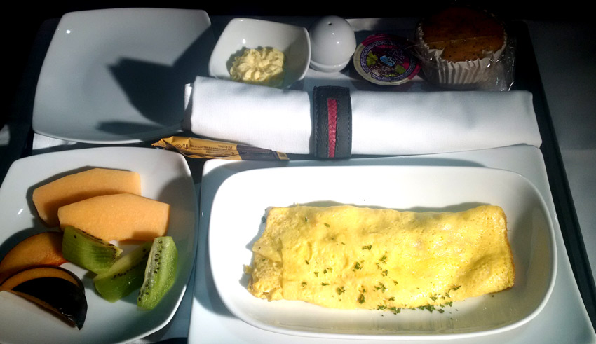 Avianca breakfast