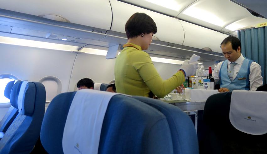 Cabin service Vietnam Airlines