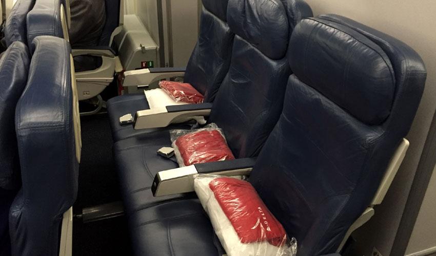 Delta Economy class seat