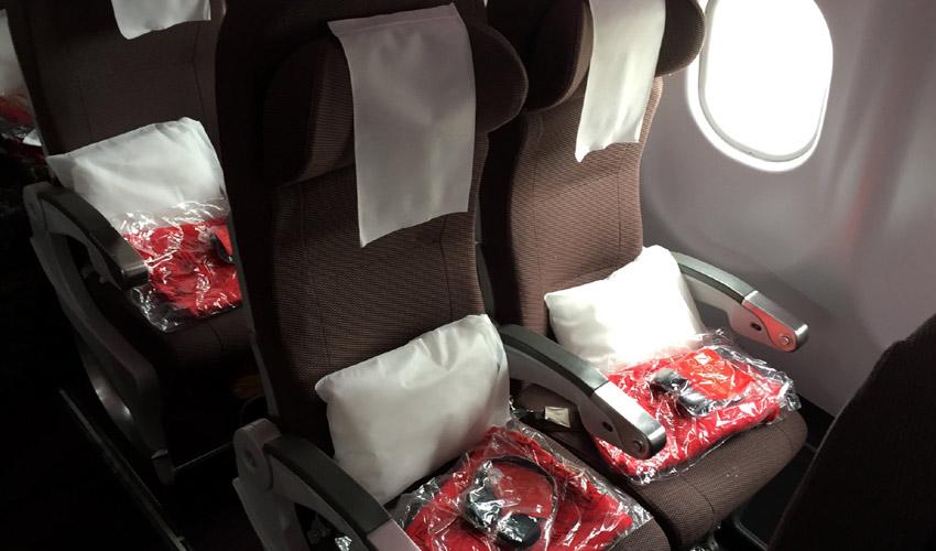 Virgin Atlantic seat