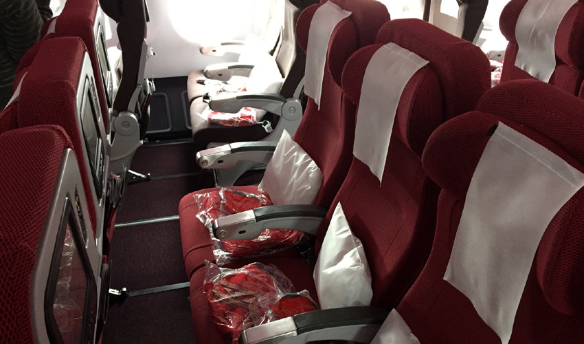 Virgin Atlantic seat