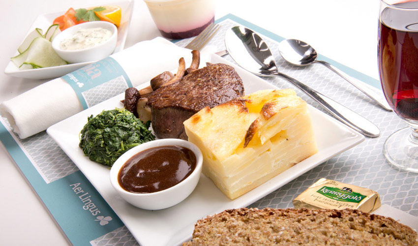 Aer Lingus enhanced meal