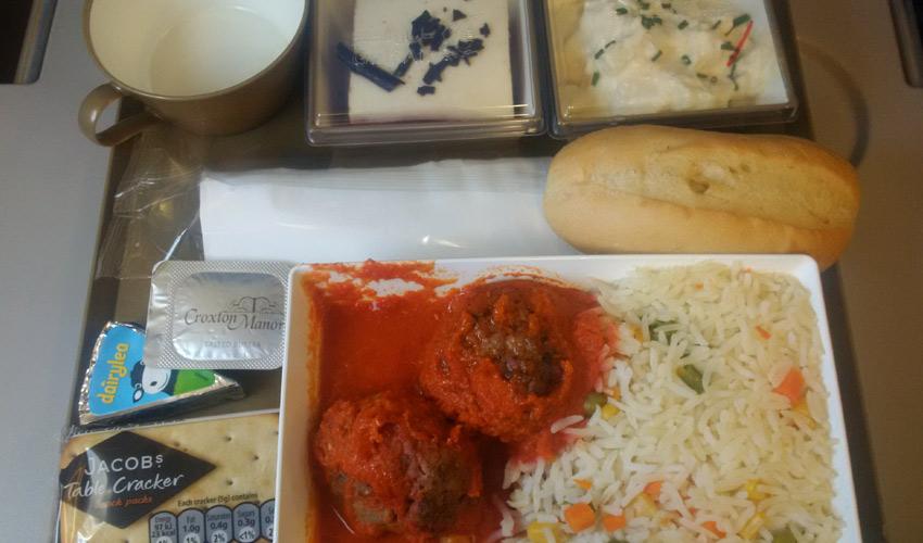 Gulf Air meal