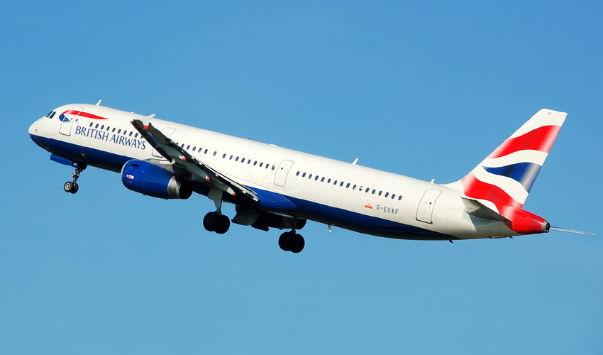 British Airways A321