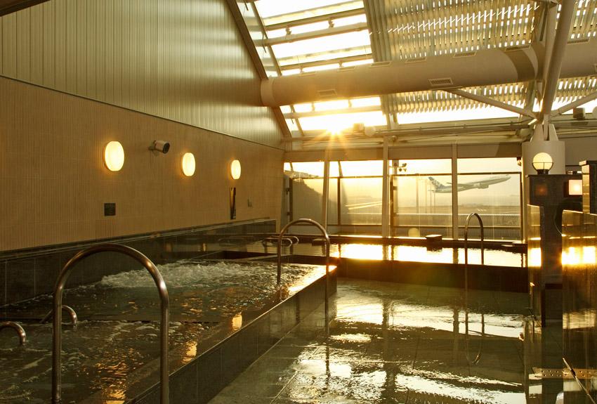 Chubu Centrair Airport baths