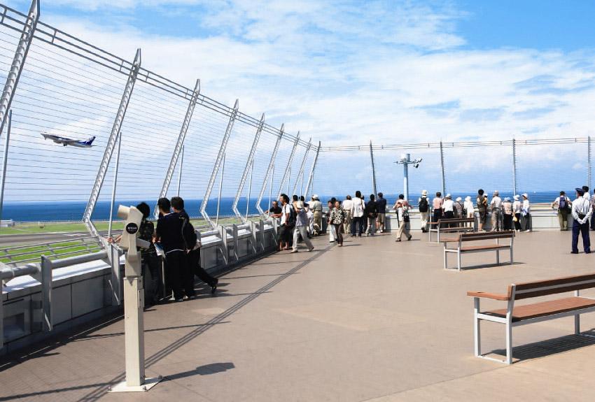 Chubu Centrair Airport viewing deck