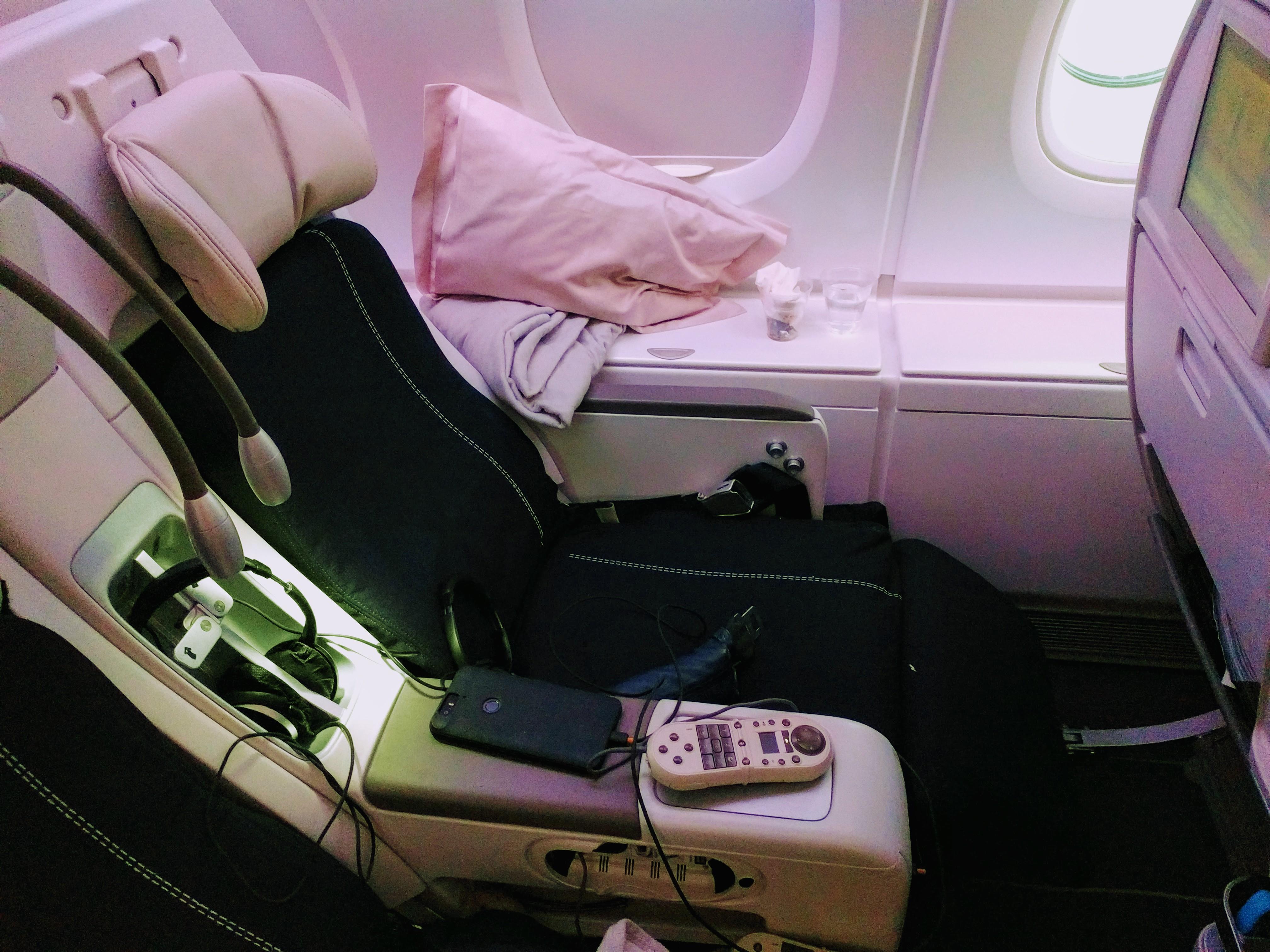 Aircraft Interiors Leather Seats