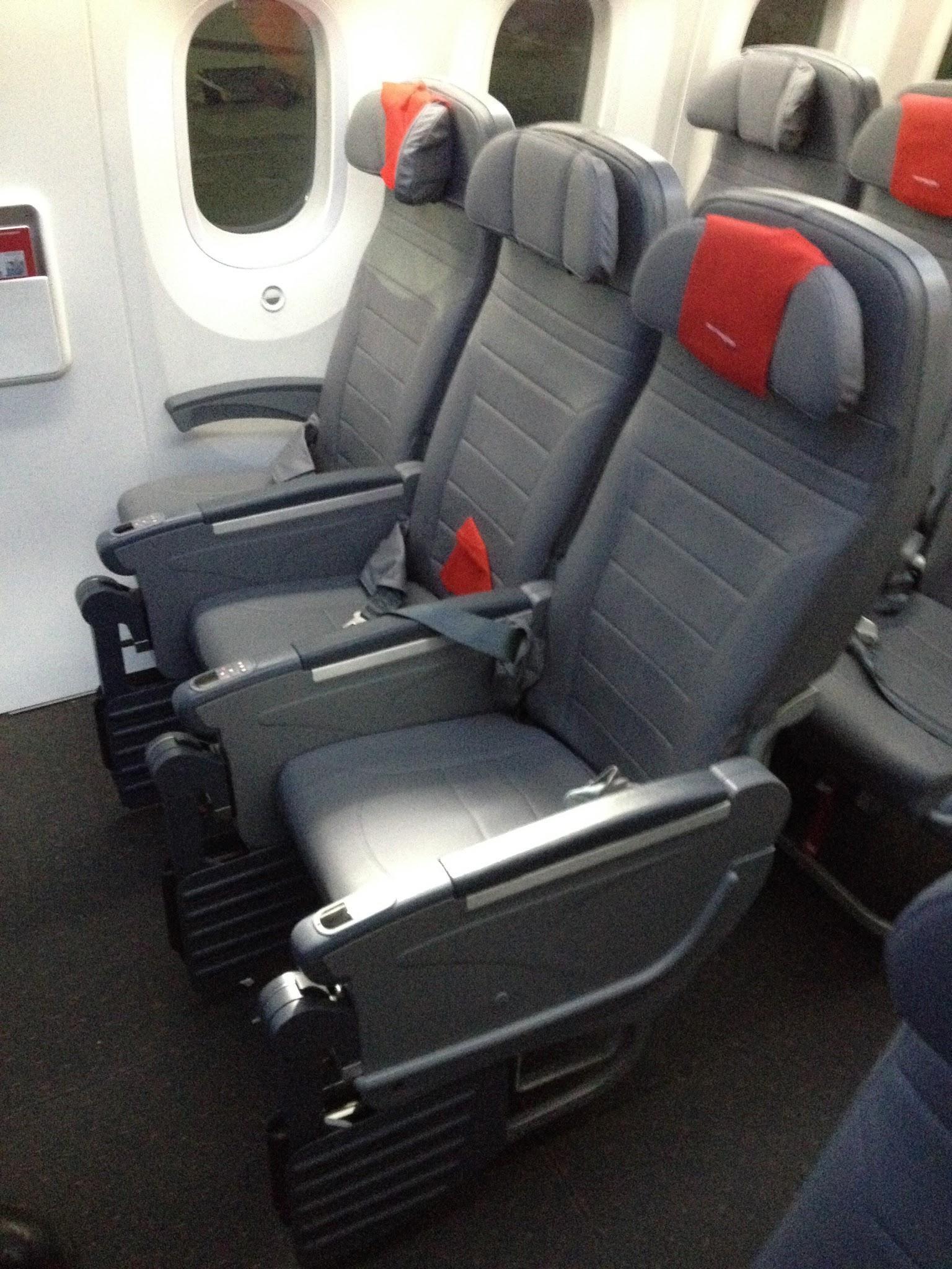 boeing 787 seating