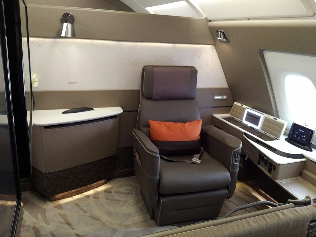 Singapore Airlines New A380 Suites Skytrax
