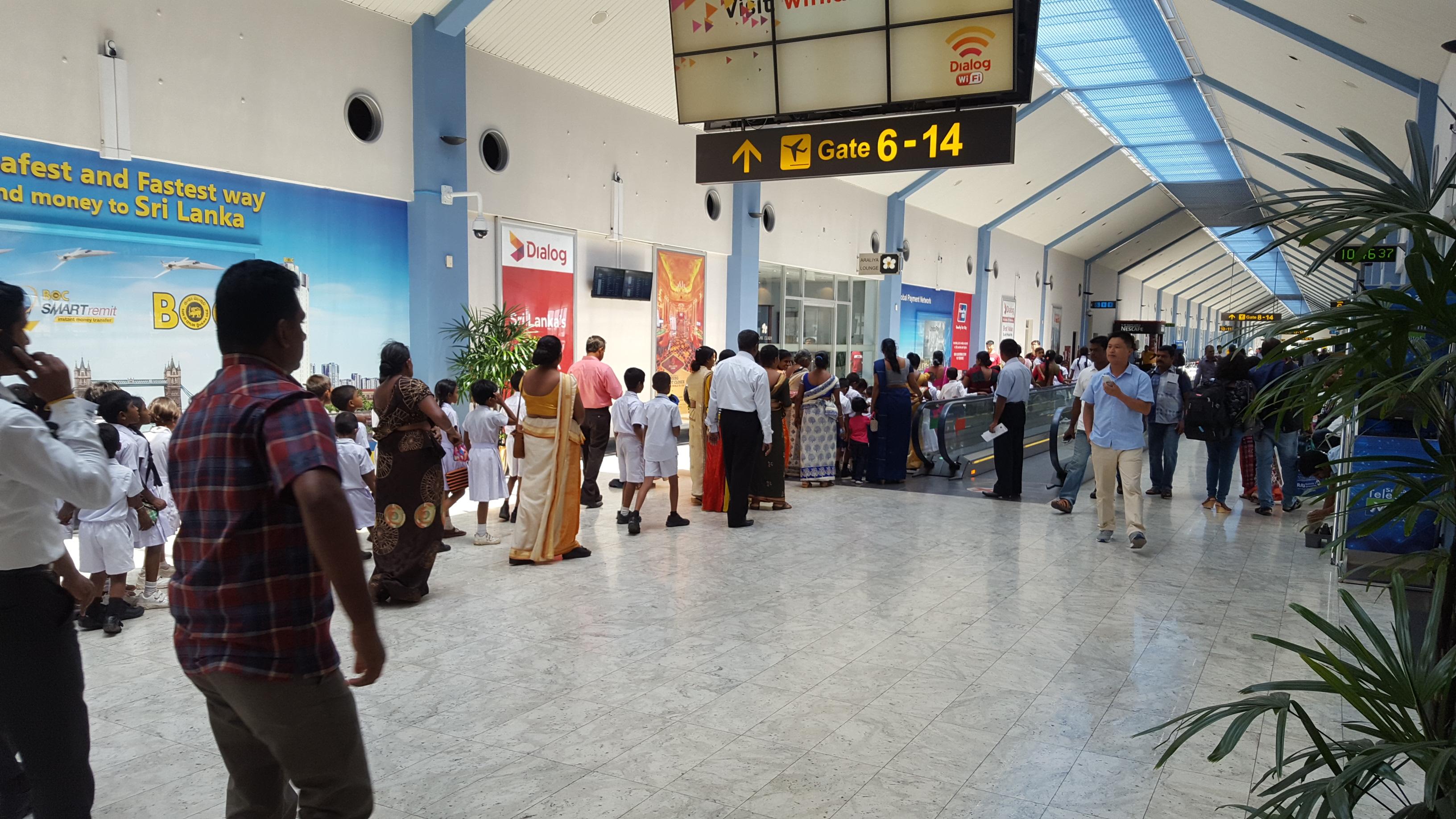 Image result for sri lanka airport