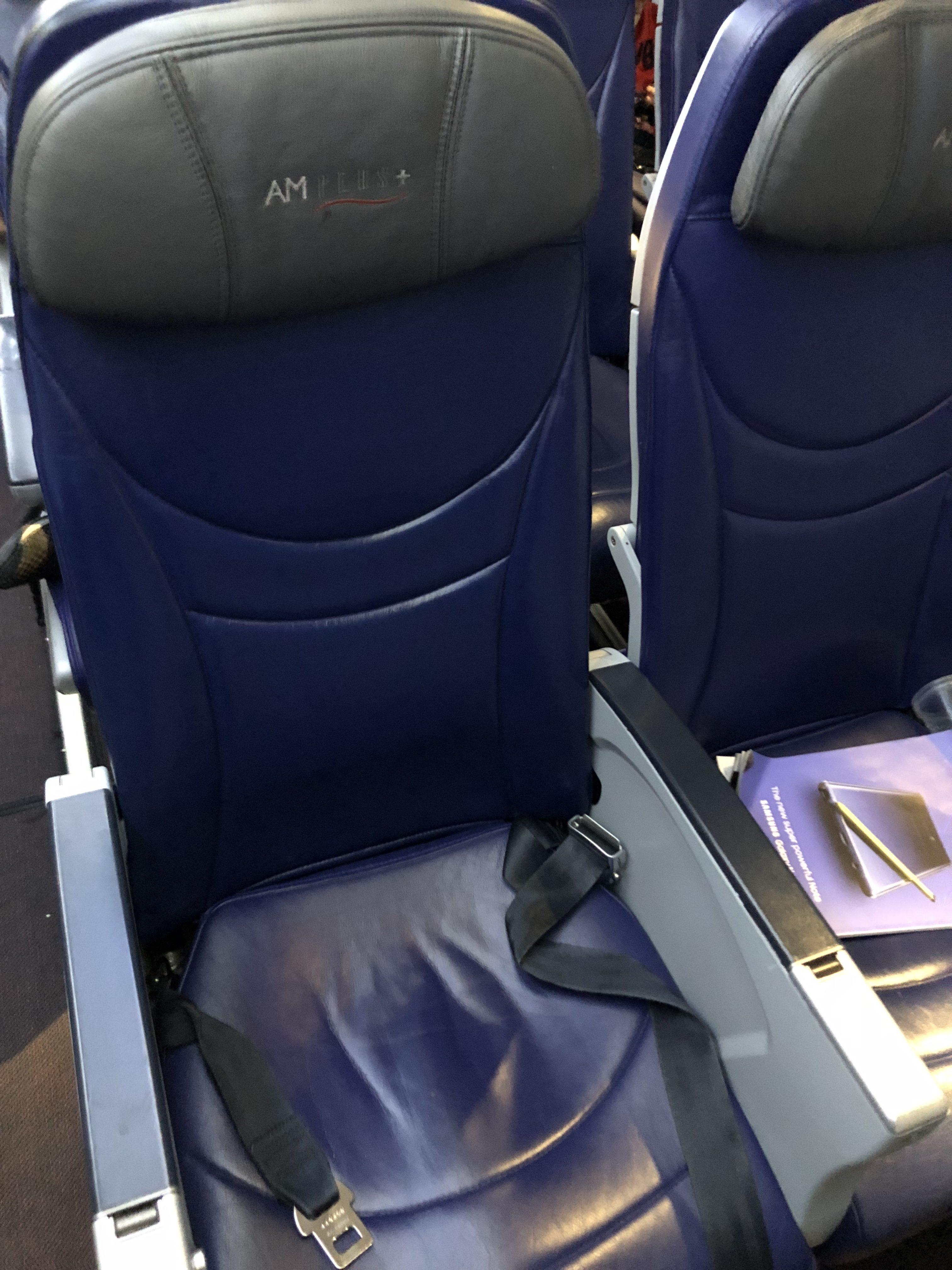 Aeromexico Seat Reviews