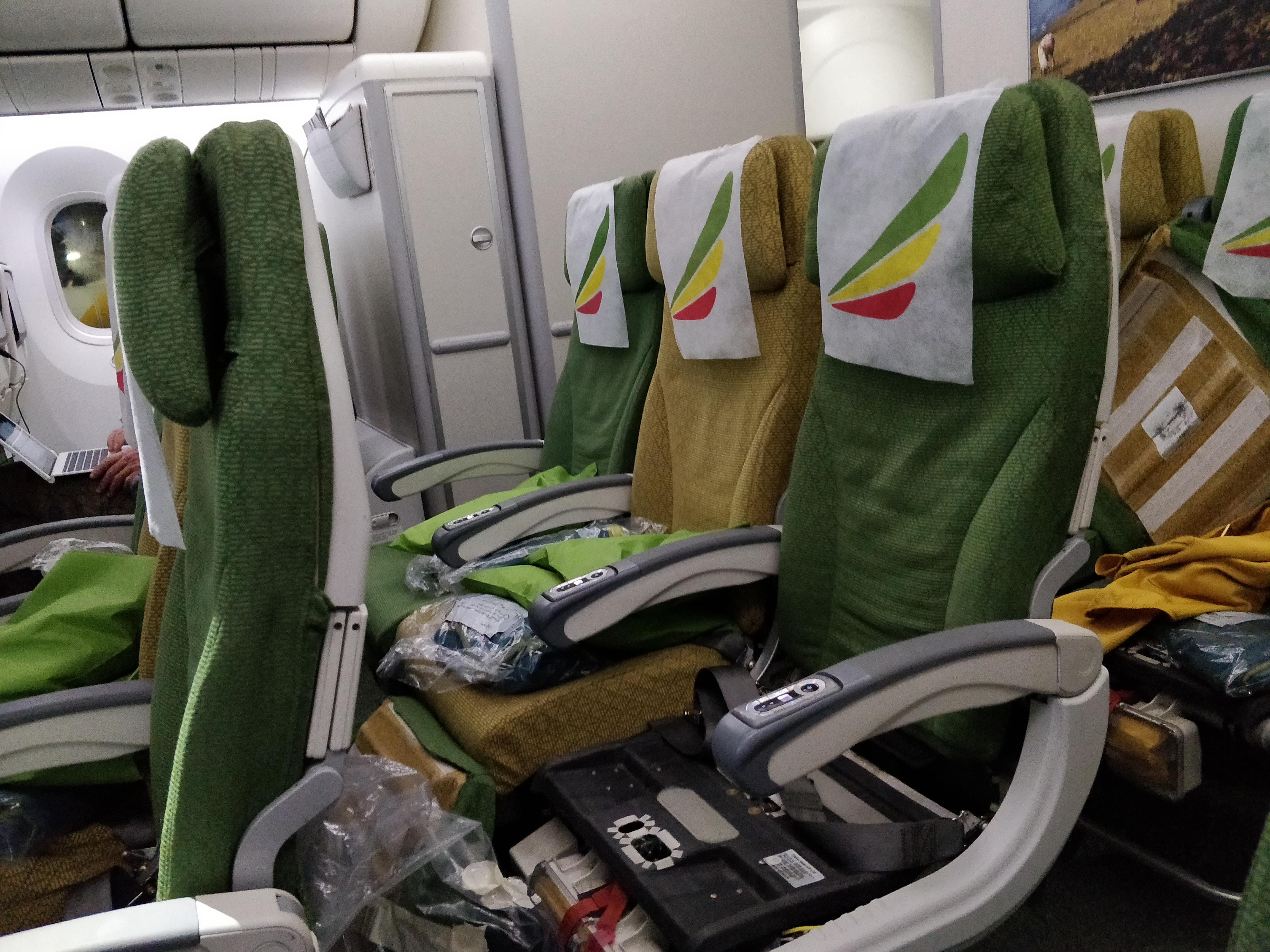 Ethiopian Airlines Seat Reviews | SKYTRAX