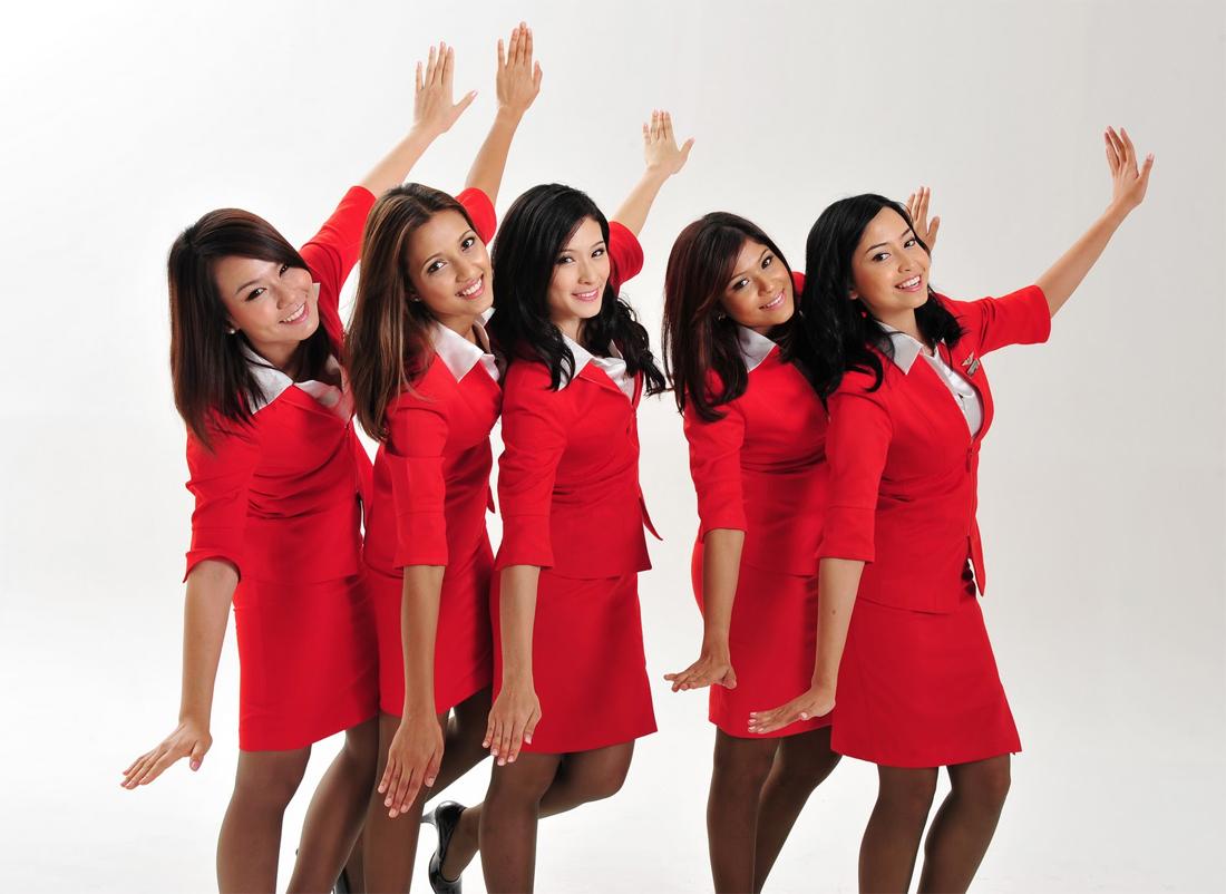 亚洲航空乘务员