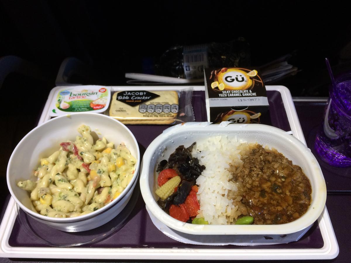 Virgin Atlantic : Economy Class trip review London to